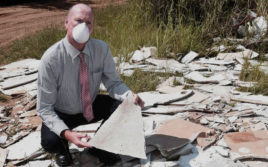 Illegal Dumping of Asbestos